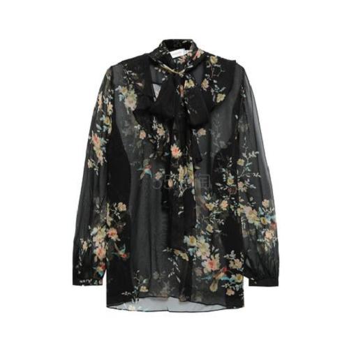 Zimmermann Pussy-bow 丝质雪纺衬衫 9(约1,745元) - 海淘优惠海淘折扣|55海淘网
