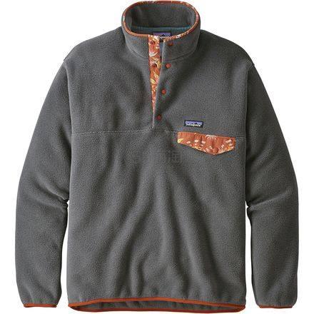 限尺码!Patagonia 巴塔哥尼亚 Synchilla Snap-T 男款经典抓绒衣 .97(约525元) - 海淘优惠海淘折扣 55海淘网