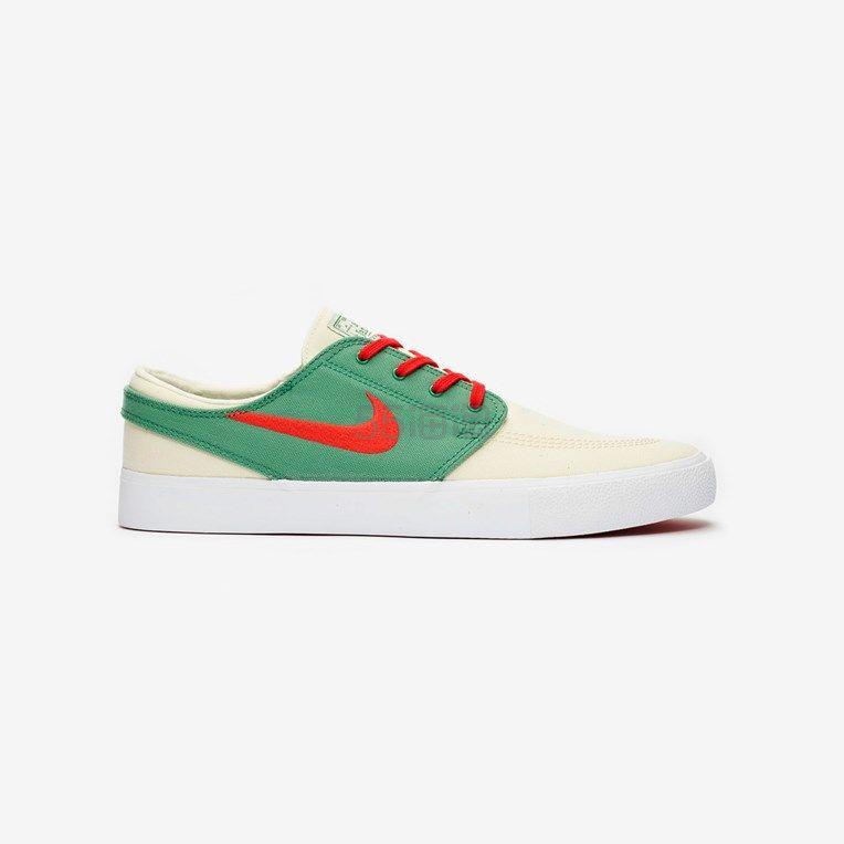 凑2件额外7.5折!Nike SB Zoom Janoski Canvas 红绿配色运动鞋 (约355元) - 海淘优惠海淘折扣|55海淘网