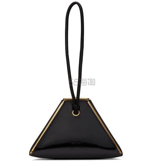 Bottega Veneta 黑色金字塔手包 ,500(約17,496元) - 海淘優惠海淘折扣|55海淘網