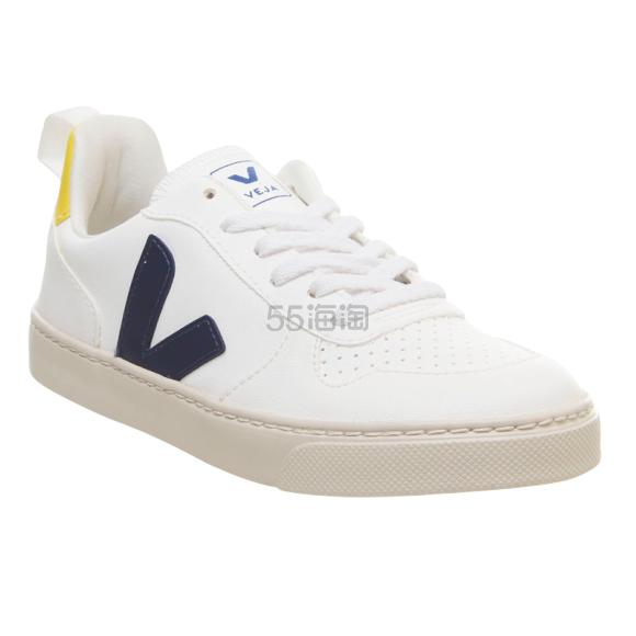 VEJA V-10 Youth 纯素皮革运动鞋