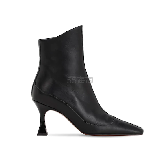 MANU ATELIER 80毫米皮革及踝靴 1.25(约2,571元) - 海淘优惠海淘折扣|55海淘网
