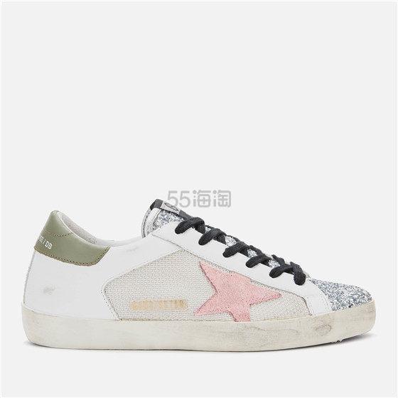 Golden Goose 女款亮片鞋头星星小脏鞋 ¥2,304.8 - 海淘优惠海淘折扣|55海淘网