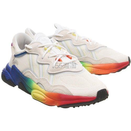 降价!Adidas 阿迪达斯 Ozweego 彩虹色运动鞋 £71.99(约652元) - 海淘优惠海淘折扣 55海淘网