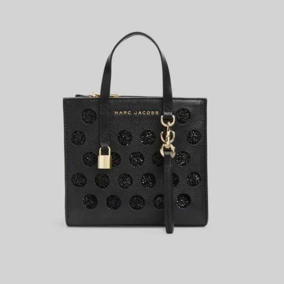 Marc Jacobs 小马哥 The Perforated Grind 波点小号托特包