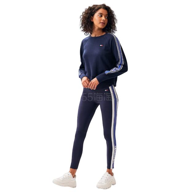 Tommy Hilfiger Logo Stripe 紧身裤 .09(约162元) - 海淘优惠海淘折扣|55海淘网