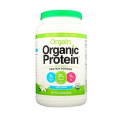 【2罐0税免邮】Orgain 有机植物蛋白粉 香草豆味 920g