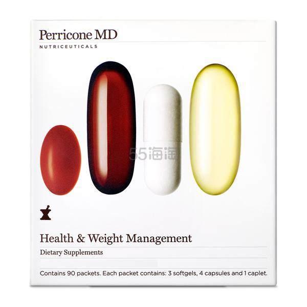 Perricone MD 裴礼康 健康体重管理套餐 30日量 .5(约512元) - 海淘优惠海淘折扣|55海淘网