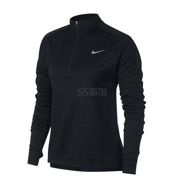 Nike Pacer Half Zip DRI-Fit Pullover 女款上衣 .73(约194元) - 海淘优惠海淘折扣|55海淘网