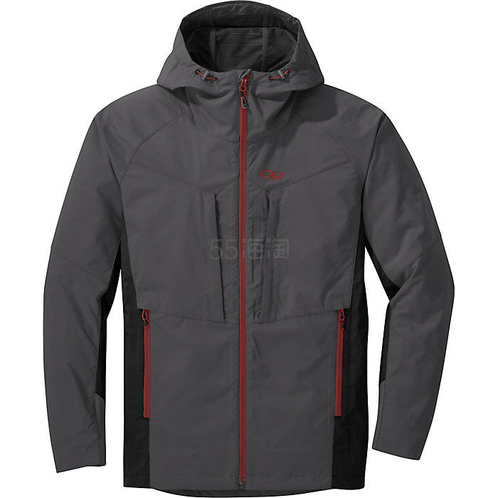 【額外9.5折】限尺碼!Outdoor Research San Juan 男士防水沖鋒衣夾克 .89(約545元) - 海淘優惠海淘折扣|55海淘網