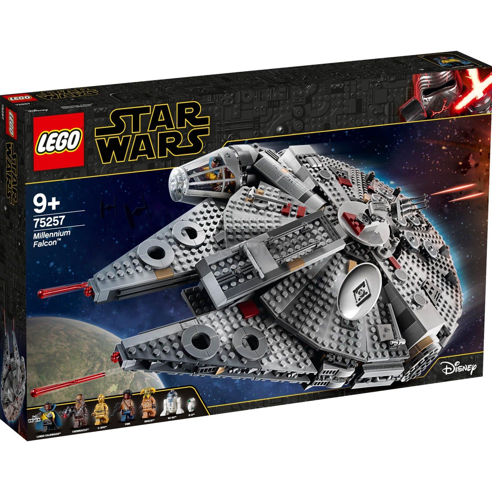 免邮+税补!LEGO 乐高星球大战系列 千年隼 (75257) £112.99(约1,026元) - 海淘优惠海淘折扣|55海淘网