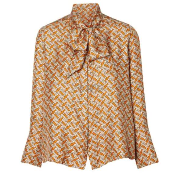 Burberry 巴宝莉 Printed 真丝衬衫 4(约4,575元) - 海淘优惠海淘折扣|55海淘网
