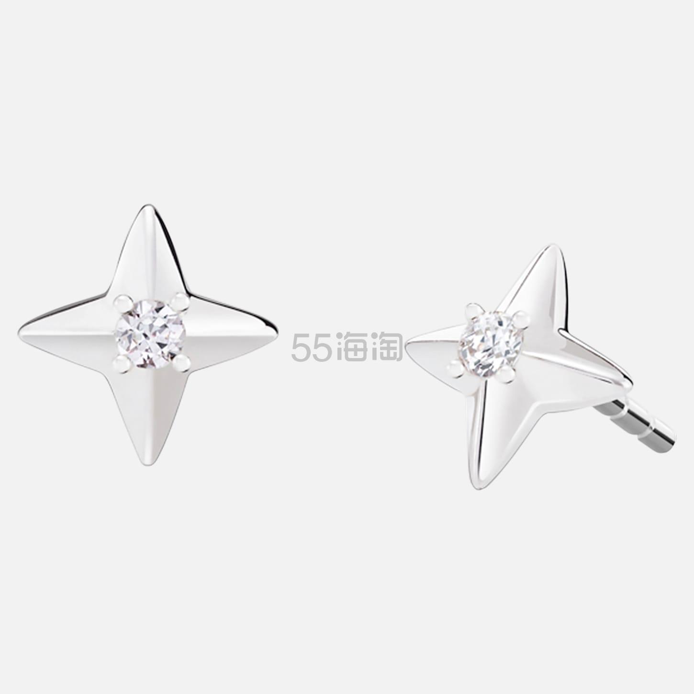 Swarovski 施华洛世奇四角星耳钉 (约175元) - 海淘优惠海淘折扣|55海淘网