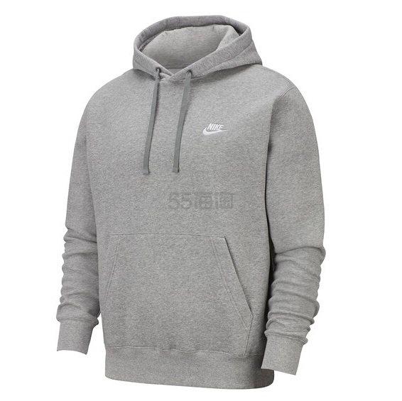 Nike Club Hoodie 男款灰色卫衣 .97(约230元) - 海淘优惠海淘折扣 55海淘网
