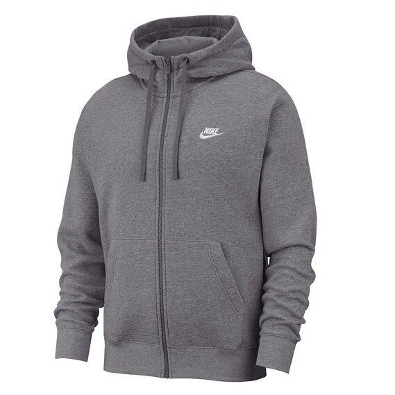 Nike Full Zip Club Hoodie 男士灰色卫衣 .97(约279元) - 海淘优惠海淘折扣|55海淘网