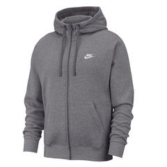 Nike Full Zip Club Hoodie 男士灰色卫衣