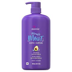 满¥213减¥70!【中亚Prime会员】Aussie 袋鼠 奇迹保湿洗发水 含鳄梨和荷荷巴油 900ml*4瓶
