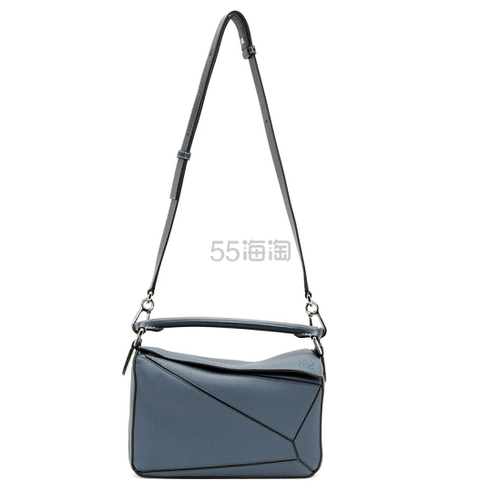 Loewe puzzle 蓝色小号包包 ,800(约12,543元) - 海淘优惠海淘折扣|55海淘网
