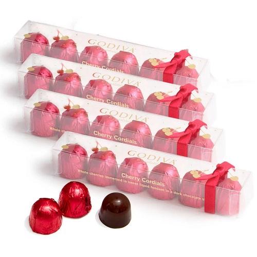 Godiva 歌帝梵 樱桃巧克力 4件 6颗/件