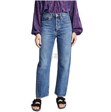 杨幂同款 AGOLDE 九十年代复古风情牛仔裤 8(约1,298元) - 海淘优惠海淘折扣|55海淘网