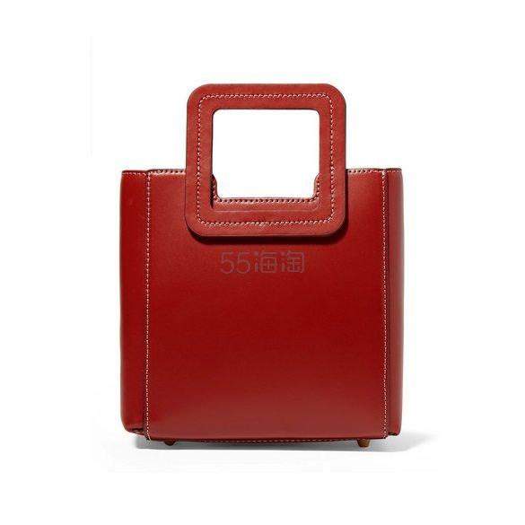 STAUD Shirley 皮革迷你手提包 £179.4(约1,637元) - 海淘优惠海淘折扣|55海淘网