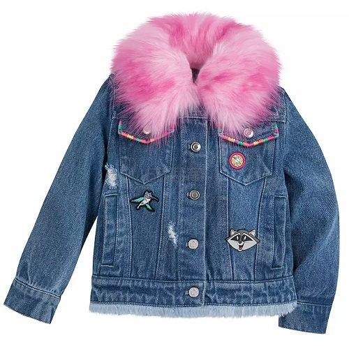 Disney 迪士尼 女孩牛仔夹克外套 .99(约104元) - 海淘优惠海淘折扣|55海淘网