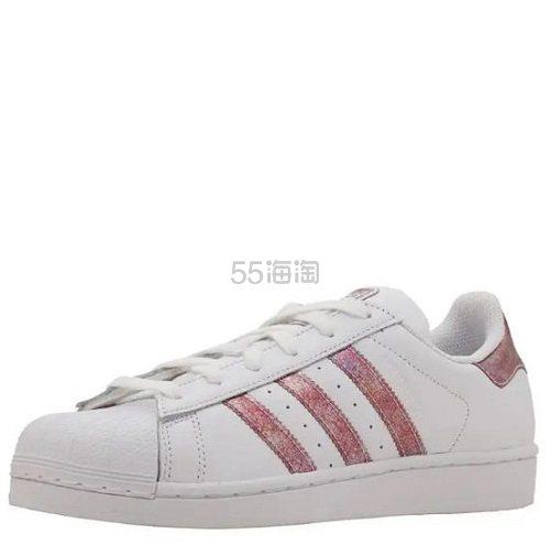 adidas Originals 三叶草 Superstar 大童款板鞋 .96(约195元) - 海淘优惠海淘折扣|55海淘网