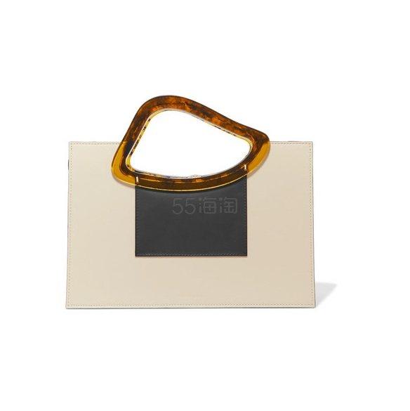 NATURAE SACRA Arp Sailent 皮革树脂手提包 £510.9(约4,610元) - 海淘优惠海淘折扣|55海淘网