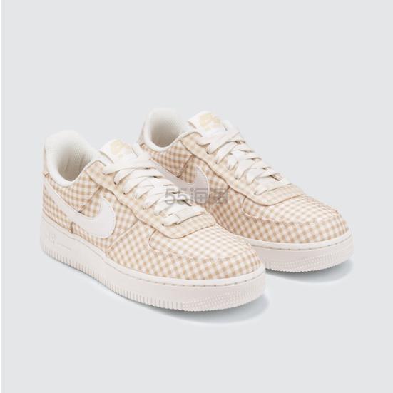 NIKE Air Force 1 07 格纹皮革运动鞋 .04(约423元) - 海淘优惠海淘折扣|55海淘网