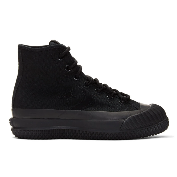 Converse Black Bosey MC 黑色高帮防水帆布鞋
