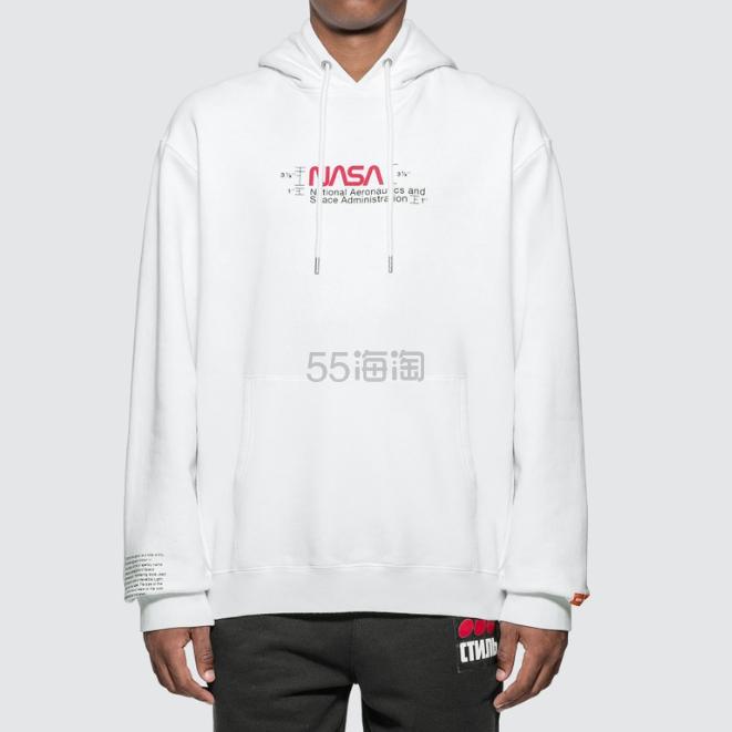 HERON PRESTON NASA 白色卫衣 9.6(约2,078元) - 海淘优惠海淘折扣|55海淘网