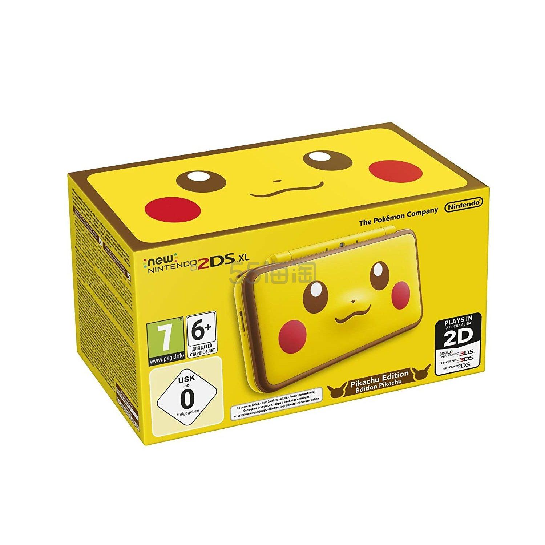 【中亚Prime会员】Nintendo 任天堂 New 2DS XL 手持游戏机皮卡丘限定版 到手价1293元 - 海淘优惠海淘折扣|55海淘网