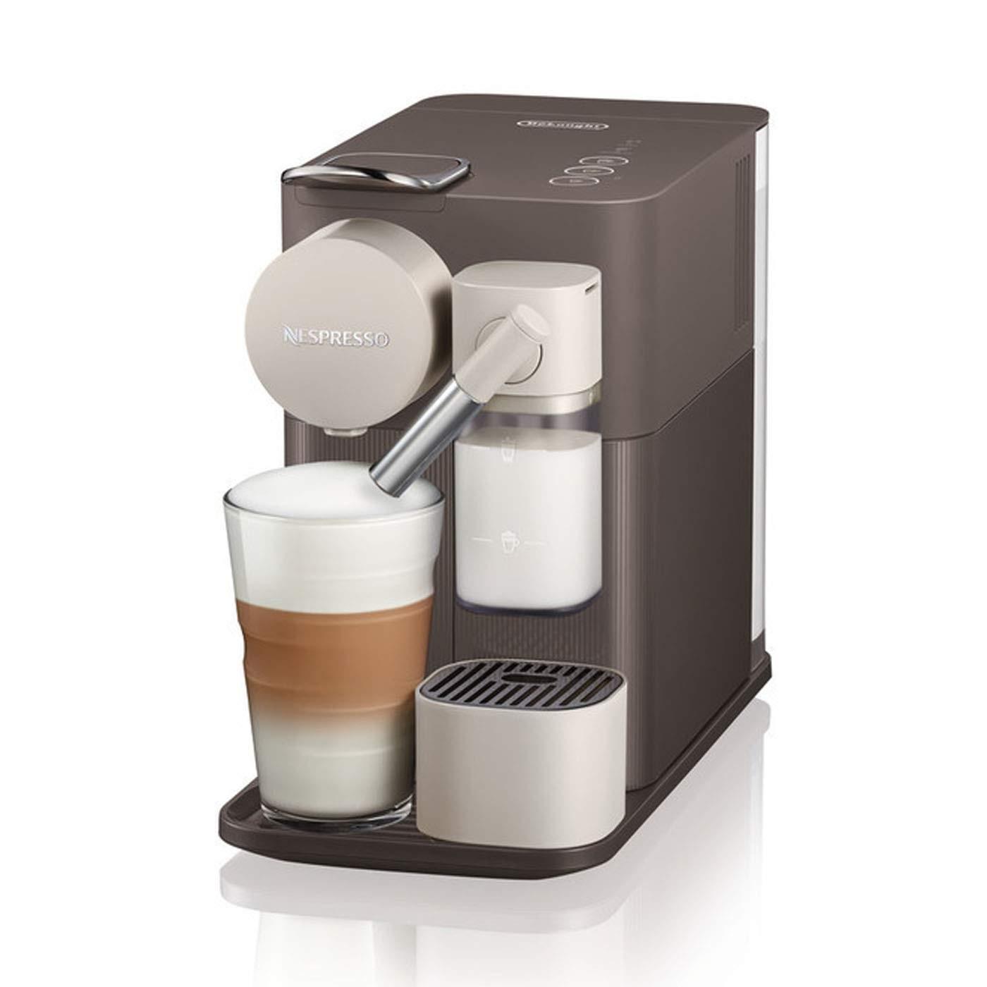 De'Longhi 德龙 Lattissima One EN500.W 胶囊咖啡机 棕色