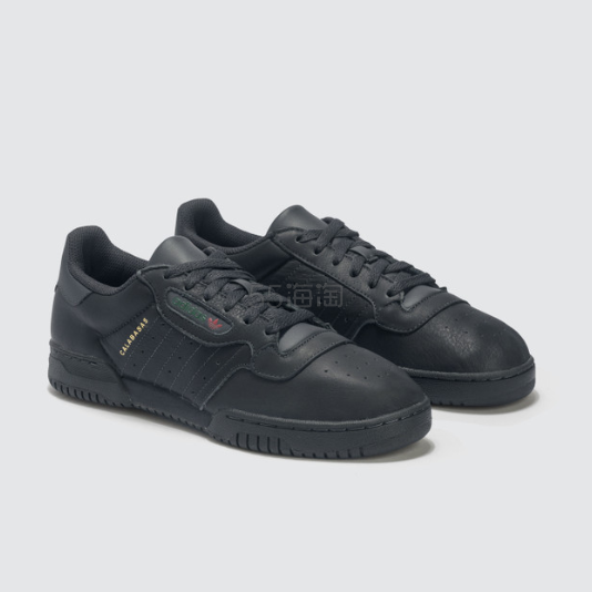 ADIDAS ORIGINALS Yeezy Powerphase 三叶草黑色运动鞋 .2(约658元) - 海淘优惠海淘折扣 55海淘网