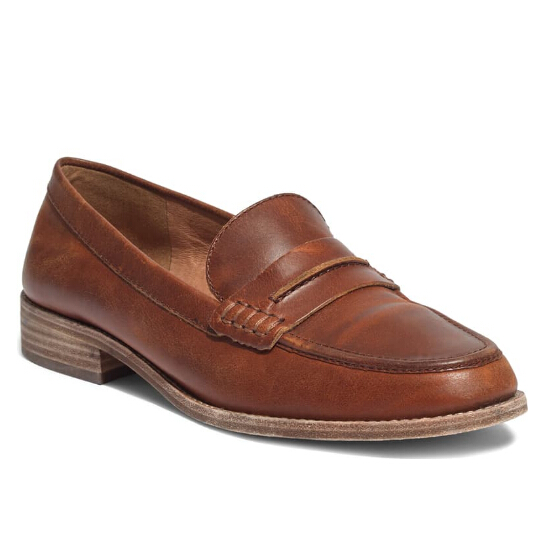 MADEWELL The Elinor Loafer 经典棕色乐福鞋