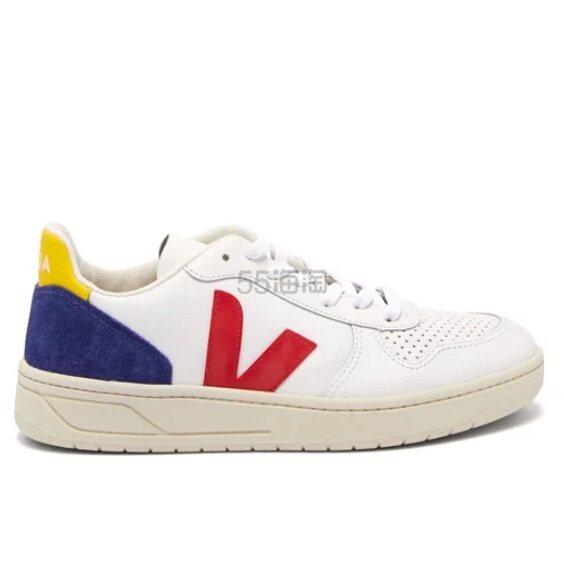 VEJA V-10 女款真皮运动鞋 €85.8(约661元) - 海淘优惠海淘折扣|55海淘网