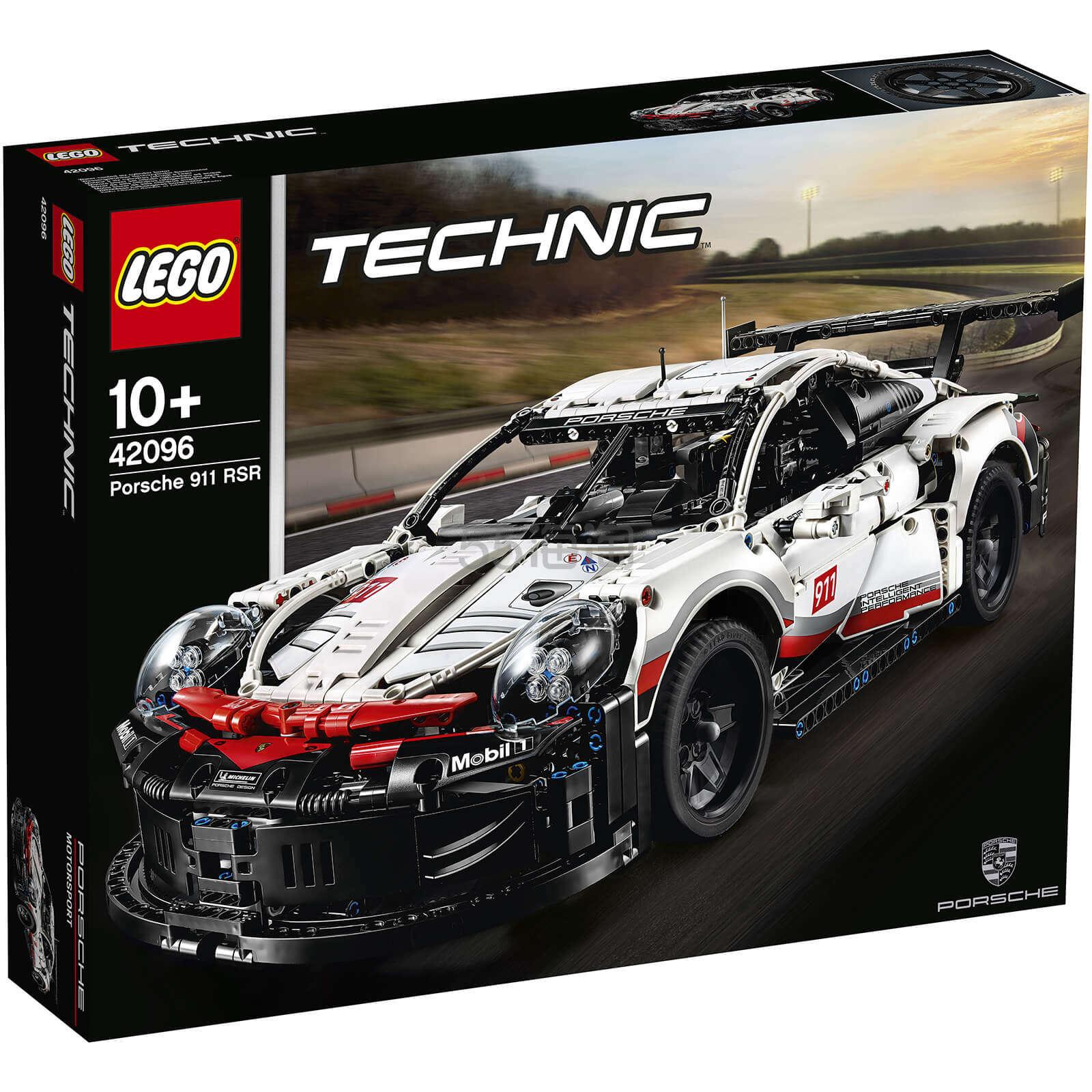 【免邮+税补】LEGO 乐高科技 保时捷911 RSR (42096)