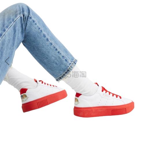 adidas Originals x Fiorucci 合作款白色 sleek 小天使运动鞋 ¥353.15 - 海淘优惠海淘折扣|55海淘网