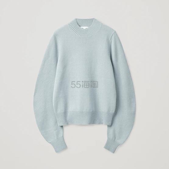 COS 浅蓝色毛衣 5(约796元) - 海淘优惠海淘折扣|55海淘网