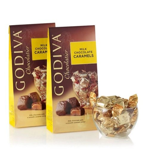 Godiva 歌帝梵 牛奶焦糖巧克力 2件 (约139元) - 海淘优惠海淘折扣|55海淘网