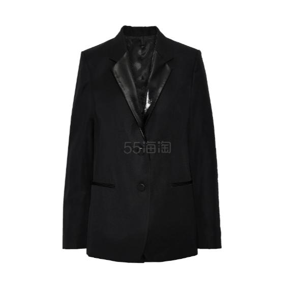 HELMUT LANG Wool-twill blazer 羊毛混纺西装外套 7(约2,472元) - 海淘优惠海淘折扣|55海淘网
