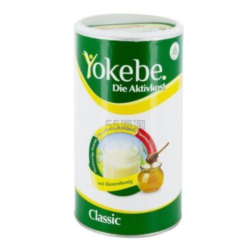 免邮费!Yokebe 活性减肥代餐蛋白粉 500g €19.99(约155元) - 海淘优惠海淘折扣|55海淘网
