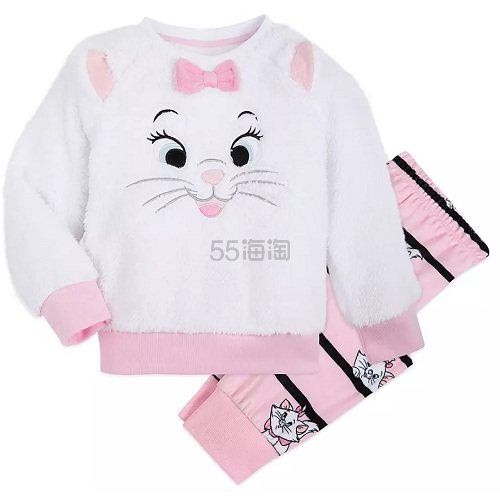 Disney 迪士尼 玛丽猫女孩睡衣套装 (约125元) - 海淘优惠海淘折扣|55海淘网