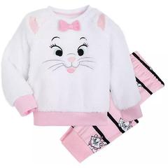 Disney 迪士尼 玛丽猫女孩睡衣套装