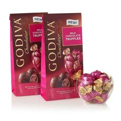 Godiva 歌帝梵 松露牛奶巧克力 2袋装 19颗/袋