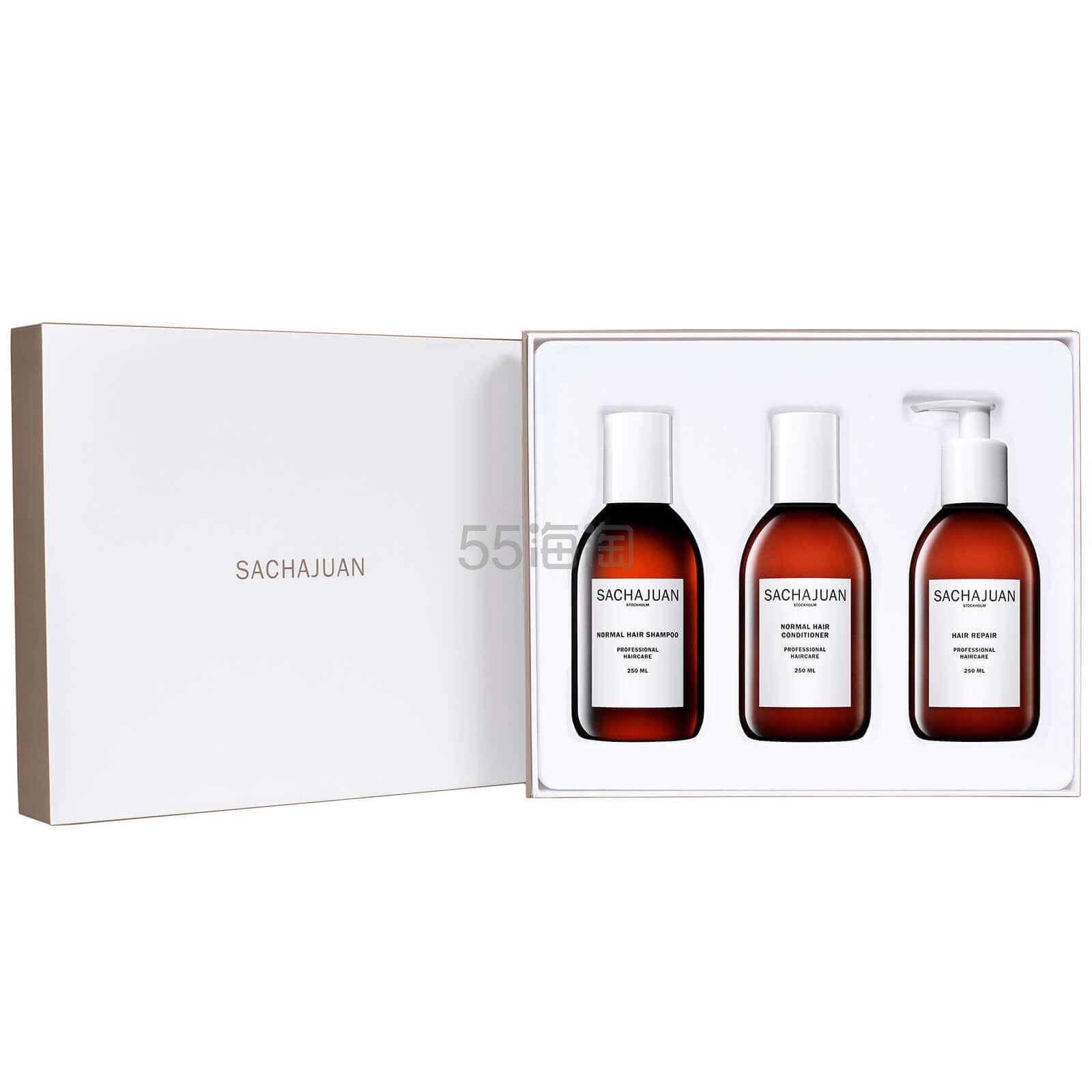 价值£54!Sachajuan 三茶官 经典洗护礼盒 £36(约324元) - 海淘优惠海淘折扣|55海淘网