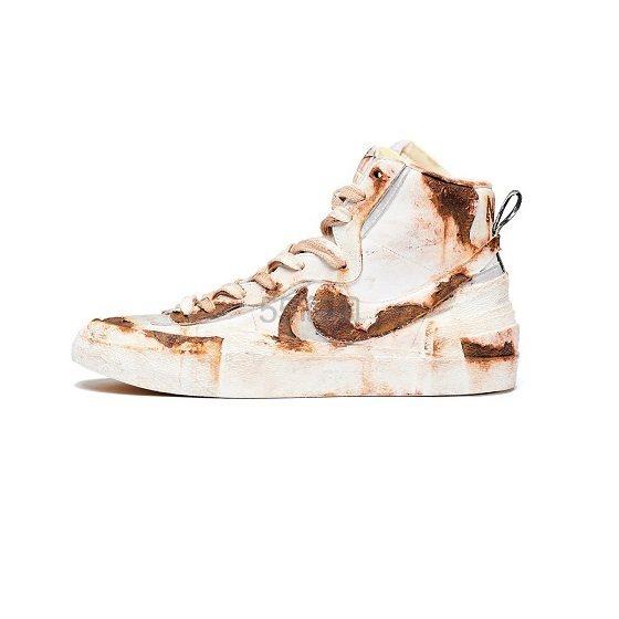 【5姐资讯】Sacai x Nike Blazer 定制铁锈版本 随便看看吧~ - 海淘优惠海淘折扣|55海淘网