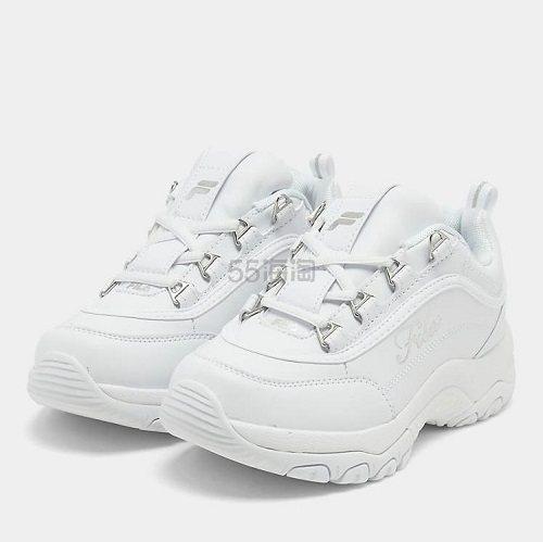 Fila 斐乐 Strada 大童款厚底运动鞋 (约174元) - 海淘优惠海淘折扣|55海淘网