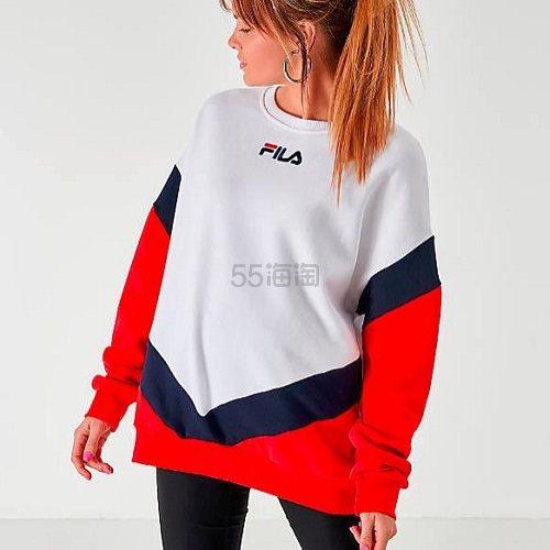 Fila 斐乐 Kairy 女子圆领拼色卫衣 (约209元) - 海淘优惠海淘折扣|55海淘网
