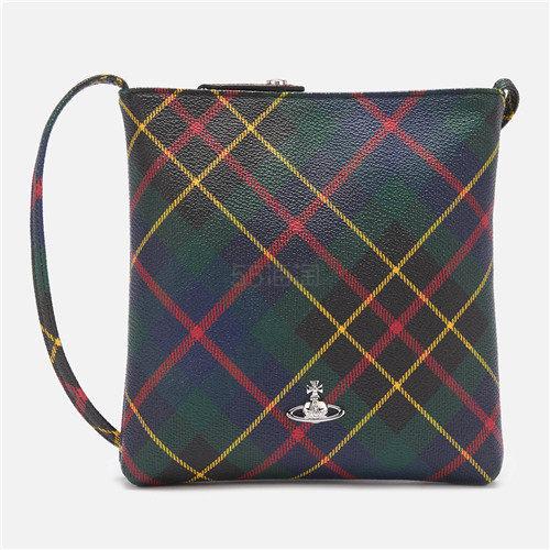 Vivienne Westwood Derby Square 复古格纹单肩包 ¥870.75 - 海淘优惠海淘折扣|55海淘网